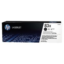 Lazerinė kasetė HP CF283X | didelės talpos | juoda