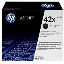 Lazerinė kasetė HP Q5942X   didelės talpos   juoda