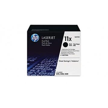 Lazerinė kasetė HP Q6511XD | didelės talpos | 2 vnt pakuotė | juoda
