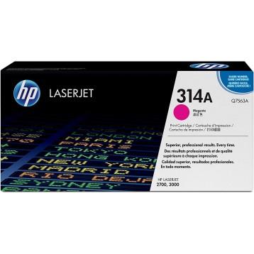Lazerinė kasetė HP Q7563A (314A) | purpurinė