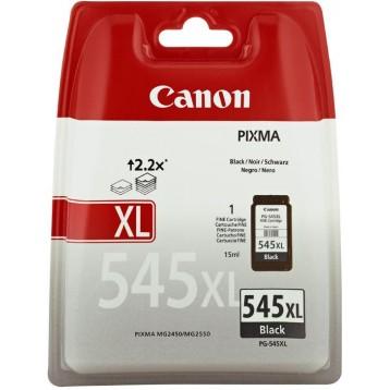 Rašalinė kasetė Canon PG-545 XL | didelės talpos | juoda