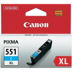 Rašalinė kasetė Canon CLI-551C XL | didelės talpos | žydra