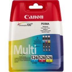 Rašalinių kasečių komplektas Canon CLI-526C / CLI-526M / CLI-526Y   3 spalvos