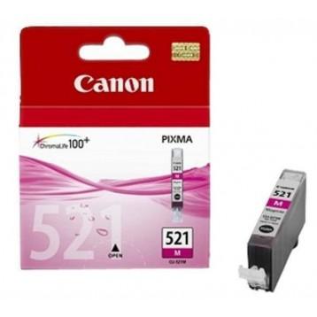 Rašalinė kasetė Canon CLI-521M | purpurinė