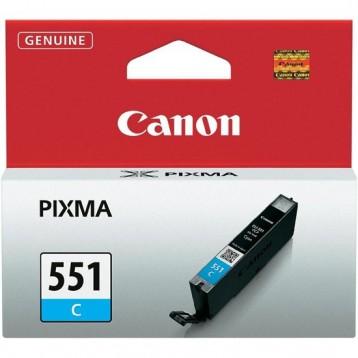 Rašalinė kasetė Canon CLI-551C | žydra