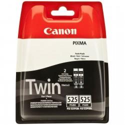 Rašalinė kasetė Canon PGI-525PGBK   2 vnt. pakuotė   juoda