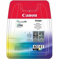 Rašalinių kasečių komplektas Canon PG-40 / CL-41 | juoda + trispalvė