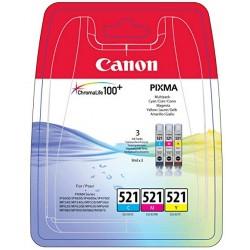Rašalinių kasečių komplektas Canon CLI-521C / CLI-521M / CLI-521Y   3 spalvos