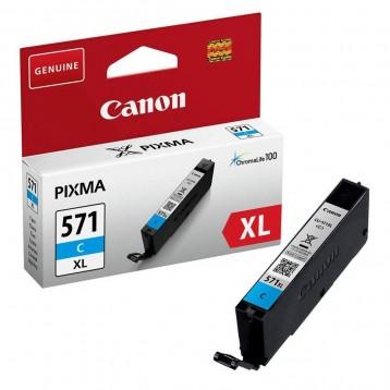 Rašalinė kasetė Canon CLI-571XLC | didelės talpos | žydra