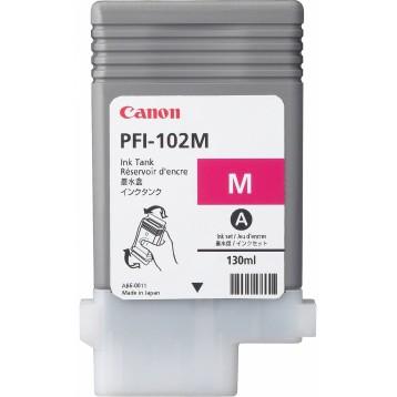 Rašalinė kasetė Canon PFI-102M   purpurinė