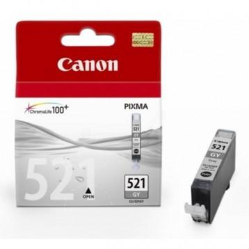 Rašalinė kasetė Canon CLI-521GY | pilka