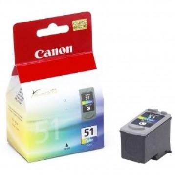 Rašalinė kasetė Canon CL-51 | trispalvė