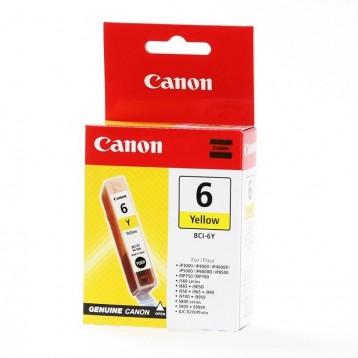 Rašalinė kasetė Canon BCI-6Y | geltona