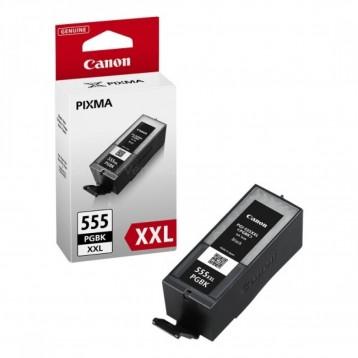 Rašalinė kasetė Canon PGI-555PGBK XXL   labai didelės talpos   juoda
