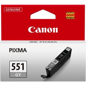 Rašalinė kasetė Canon CLI-551GY   pilka