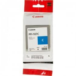 Rašalinė kasetė Canon PFI-107C   žydra