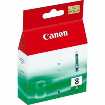 Rašalinė kasetė Canon CLI-8G | žalia