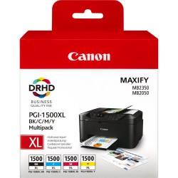 Rašalinių kasečių komplektas Canon PGI-1500XL C/M/Y/BK   4 spalvos
