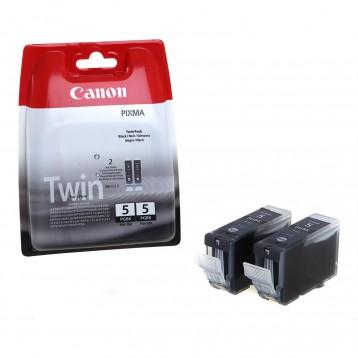 Rašalinė kasetė Canon PGI-5BK   2 vnt. pakuotė   juoda