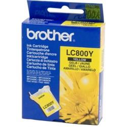 Rašalinė kasetė Brother LC800Y | geltona
