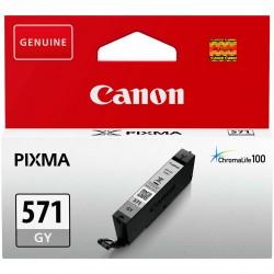 Rašalinė kasetė Canon CLI-571GY   pilka