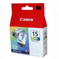 Rašalinė kasetė Canon BCI-15CL   2 vnt. pakuotė   trispalvė