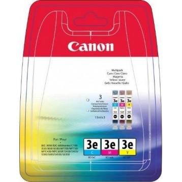 Rašalinių kasečių komplektas Canon BCI-3eC / BCI-3eM / BCI-3eY   3 spalvos