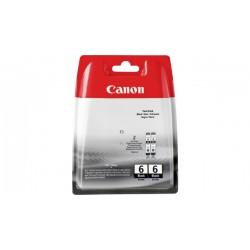 Rašalinė kasetė Canon BCI-6BK   2 vnt. pakuotė   juoda