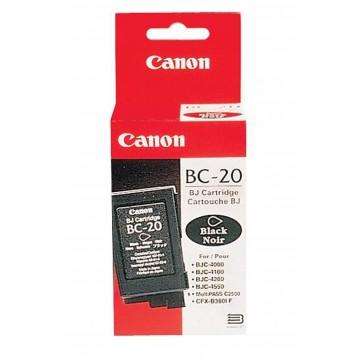 Rašalinė kasetė Canon BC-20   juoda