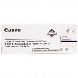 Būgno kasetė Canon C-EXV34B   juoda