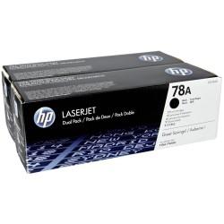 Lazerinė kasetė HP CE278AD | 2 vnt. pakuotė | juoda