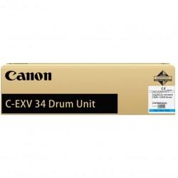 Būgno kasetė Canon C-EXV34C   žydra