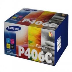 Lazerinių kasečių komplektas Samsung CLT-P406C | 4 spalvos