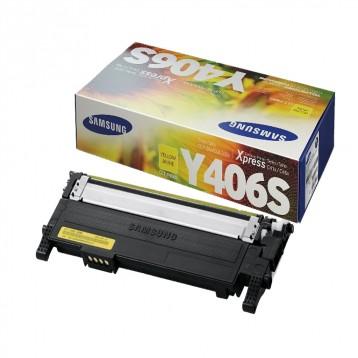 Lazerinė kasetė Samsung CLT-Y406S | geltona