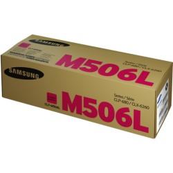 Lazerinė kasetė Samsung CLT-M506L | didelės talpos | purpurinė