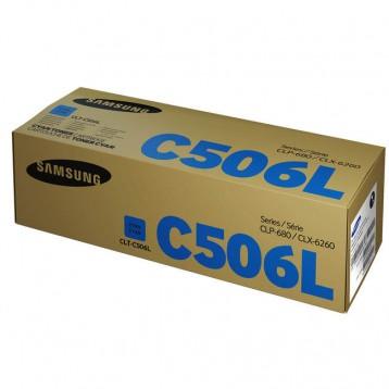 Lazerinė kasetė Samsung CLT-C506L   didelės talpos   žydra