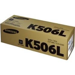 Lazerinė kasetė Samsung CLT-K506L   didelės talpos   juoda