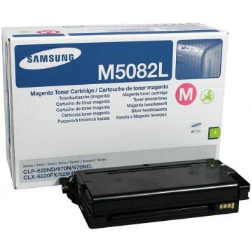 Lazerinė kasetė Samsung CLT-M5082L | didelės talpos | purpurinė