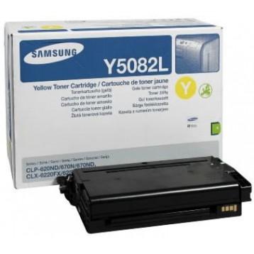Lazerinė kasetė Samsung CLT-Y5082L   didelės talpos   geltona