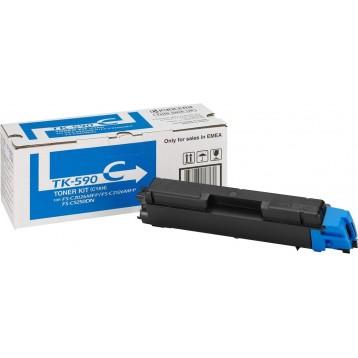 Lazerinė kasetė Kyocera TK-590C   žydra