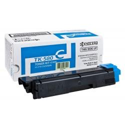 Lazerinė kasetė Kyocera TK-580C | žydra