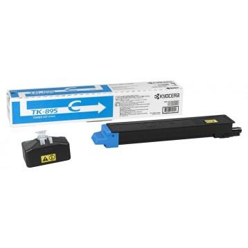 Lazerinė kasetė Kyocera TK-895C | žydra