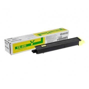 Lazerinė kasetė Kyocera TK-895Y | geltona