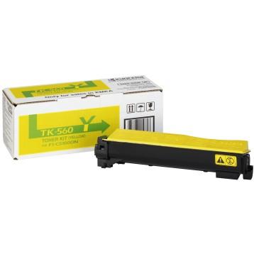 Lazerinė kasetė Kyocera TK-560Y   geltona