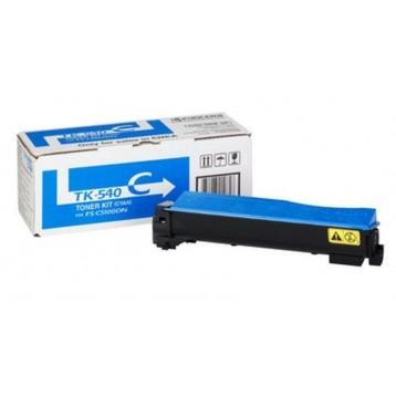 Lazerinė kasetė Kyocera TK-540C | žydra