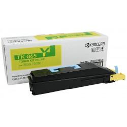 Lazerinė kasetė Kyocera TK-865Y   geltona