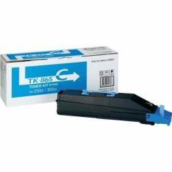 Lazerinė kasetė Kyocera TK-865C | žydra