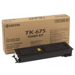 Lazerinė kasetė Kyocera TK-675   juoda