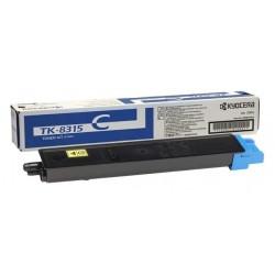 Lazerinė kasetė Kyocera TK-8315C | žydra
