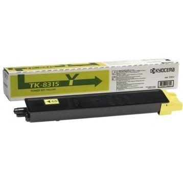Lazerinė kasetė Kyocera TK-8315Y | geltona